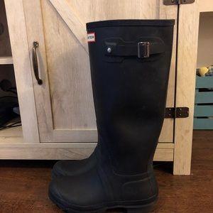 Hunter Women's Original Tall Rain Boots - Black